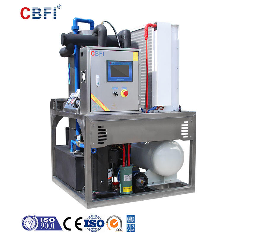 CBFI TV7 700kg Per Day Tube Ice Making Machine For Drinks