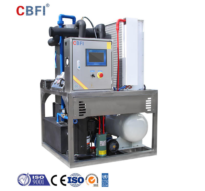 CBFI TV7 700kg Per Day Tube Ice Making Machine For Drinks