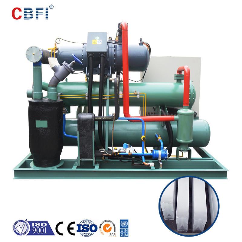 CBFI BBI200 20 طن في اليوم آلة تصنيع قوالب الثلج بالماء المالح