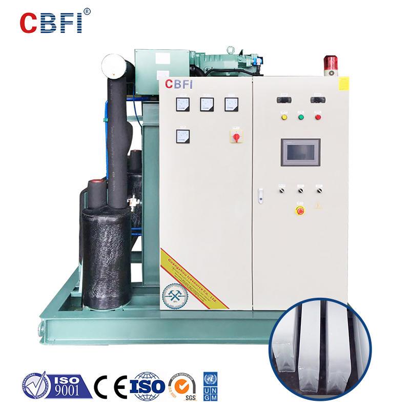 CBFI BBI300 30 طن في اليوم آلة تصنيع قوالب الثلج من النوع المالح