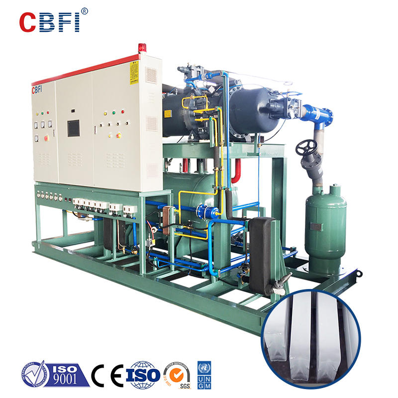 CBFI BBI500 50 Tons Per Day Block Ice Machine Brine