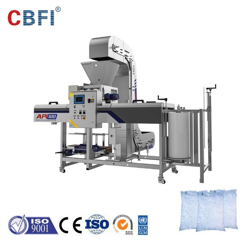 CBFI API Specs Automatic Ice Packing Machine For Large Ice Plants