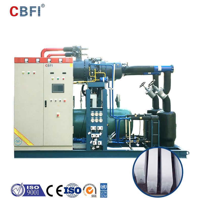 آلة تصنيع قوالب الثلج CBFI BBI1000 100 طن في اليوم