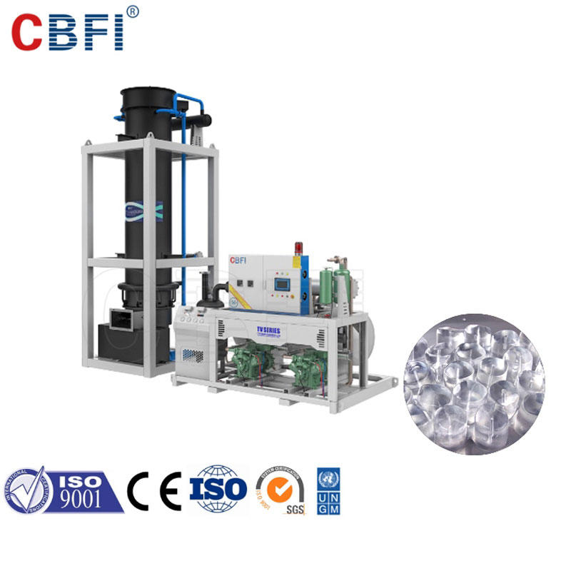 CBFI Huge Demand Solid Full Cylinders Tube Ice Making Machine