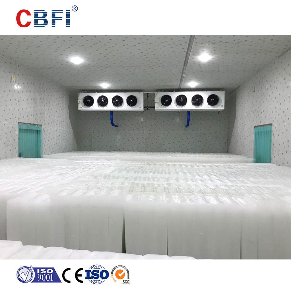 Comparison of properties of ammonia refrigerant and fluorine refrigerant in cold storage