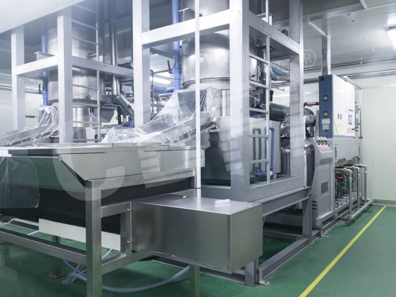 2 Sets of 30 Tons Tube Ice Machine with South Korea