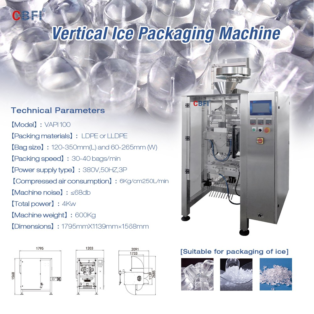 product-Automatic Vertical Ice Packing Machine For Starting Ice Business-CBFI-img
