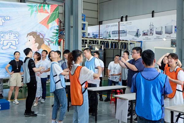 news-CBFI-The 2nd Qixi Festival Bingquan Cup Ice Breaking Relay starts-img
