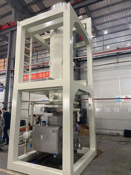 Fully automated ice factory--30Tons solid-cut flat tube ice machine in Europe