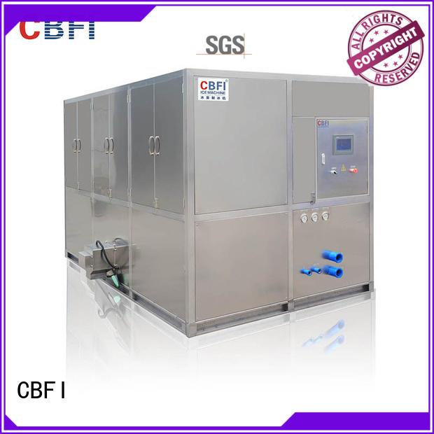 CBFI widely used cube ice machine free design for vegetable storage