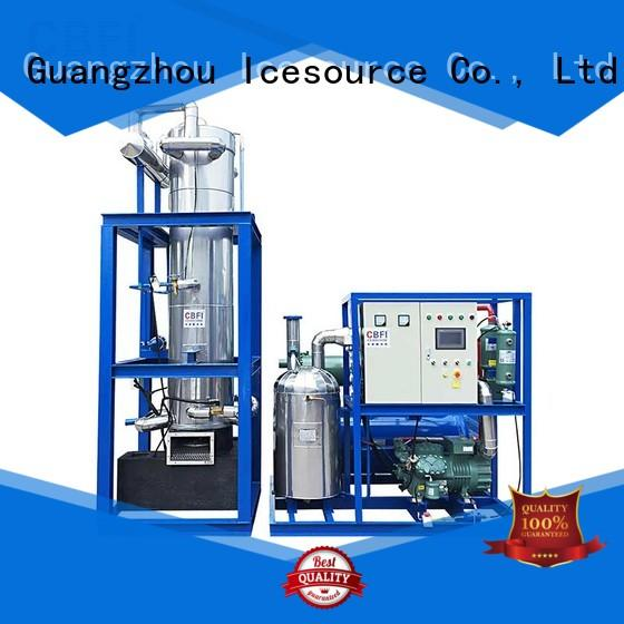 CBFI TV100 10 Tons Per Day Tube Ice Machine For Hotels