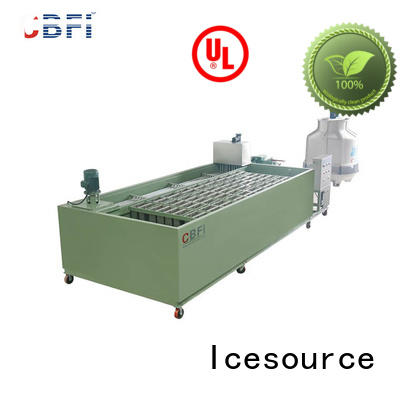 CBFI durable ice block making machine for manufacturer for meat preservation