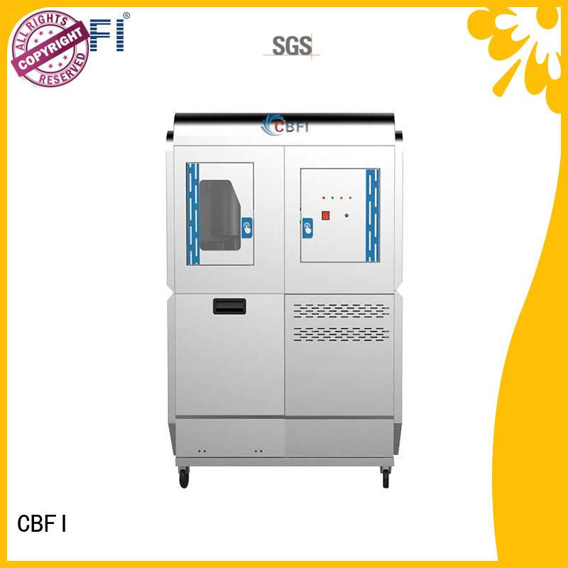 CBFI professional Edible Flake Ice Machine range for aquatic goods