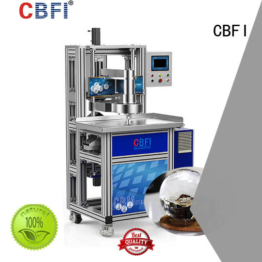CBFI clean round ice cube maker consumption for high-end wine