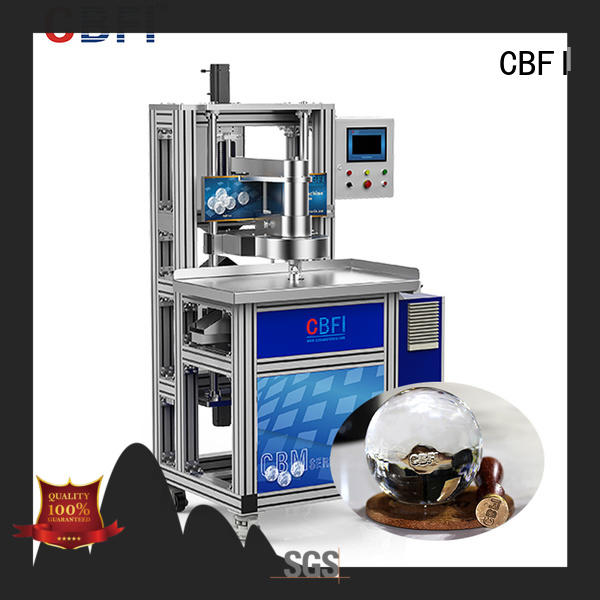 high-end machine factory price for ice bar