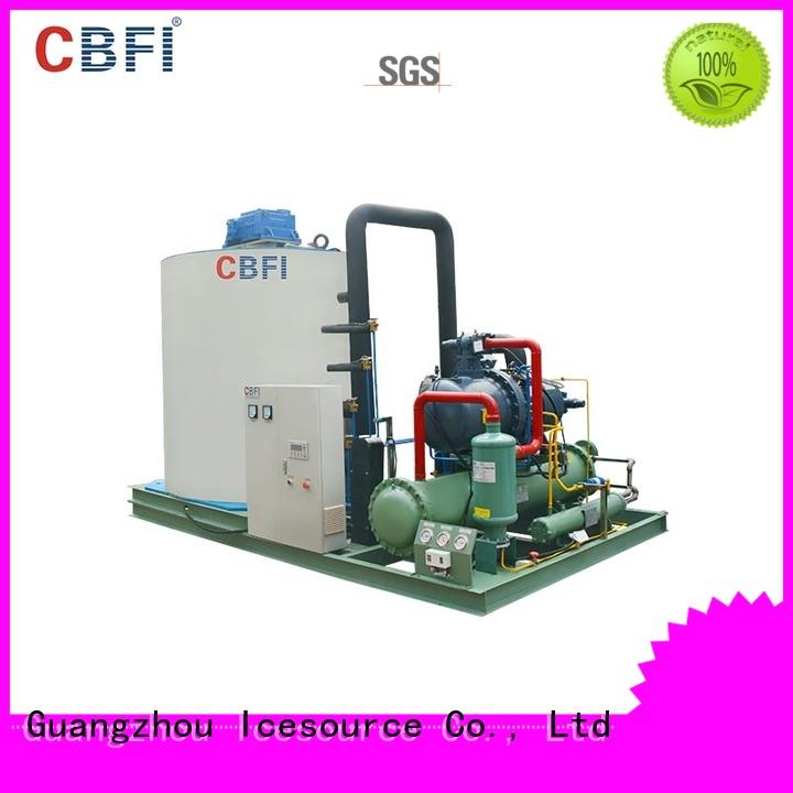 CBFI excellent flake ice makers commercial widely-use for water pretreatment