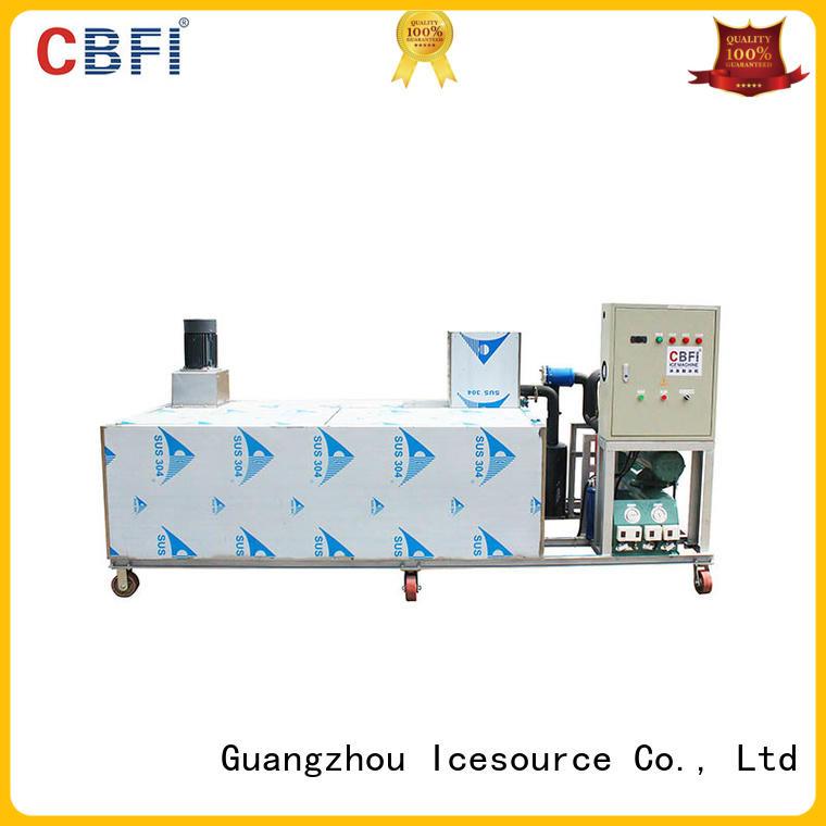 block ice machine manufacturers maker pipes day CBFI Brand big block ice machine