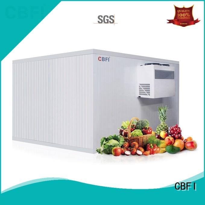 CBFI best vegetable cold storage room room for freezing