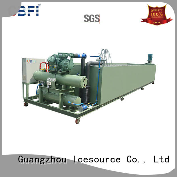 pipes ice block machine owner for meat preservation