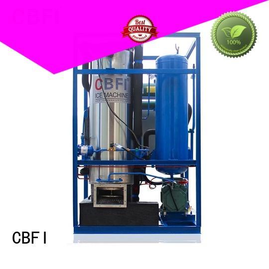 CBFI edible tube ice machine grab now for hotel