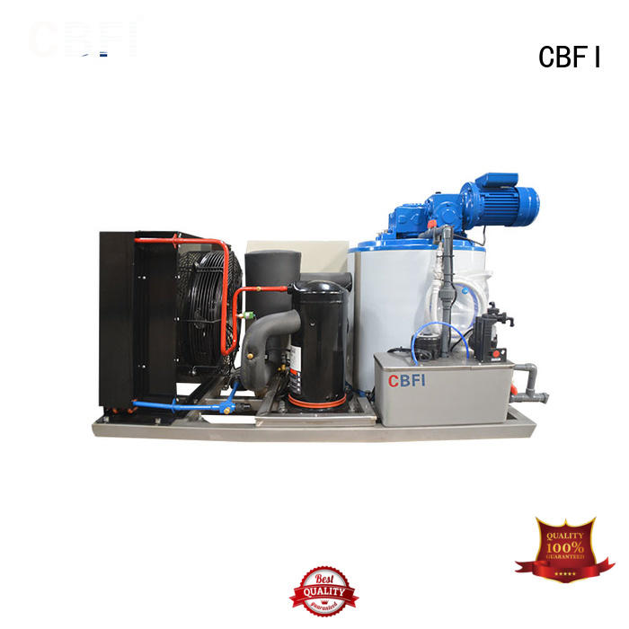 CBFI commercial flake ice machine commercial supplier for aquatic goods