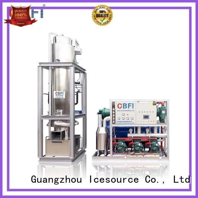 plant tube ice machine for myanmar edible per CBFI Brand
