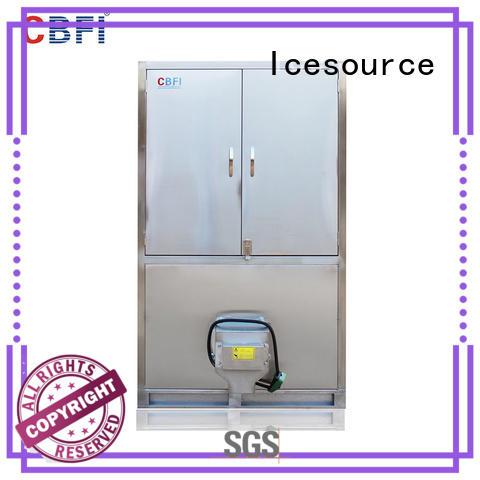 CBFI high-quality large ice cube machine customized for fruit storage