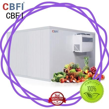 cold room for vegetables vcr for freezing CBFI