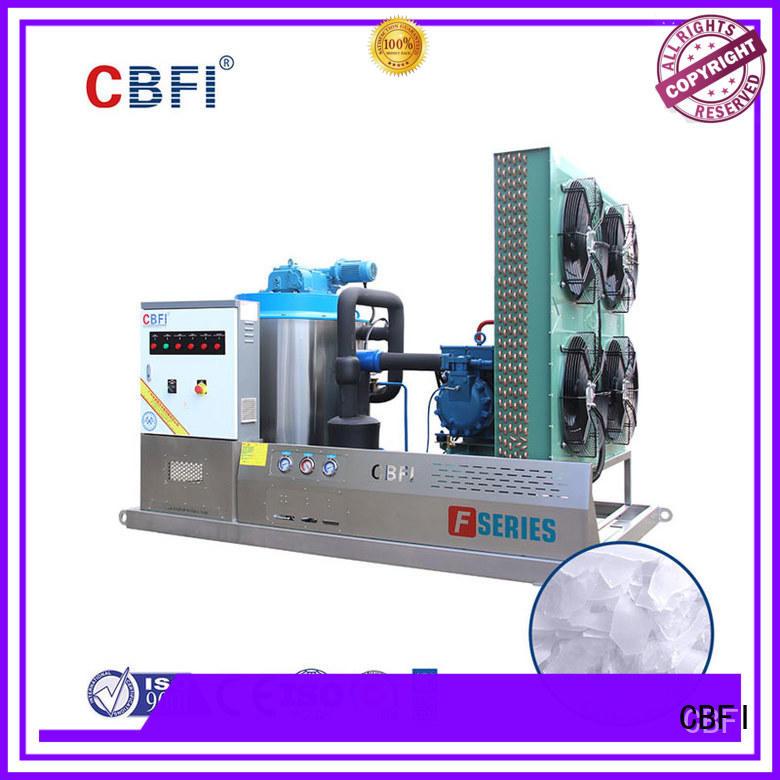 CBFI inexpensive flake ice making machine supplier for ice making