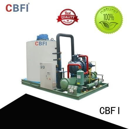 CBFI making flake ice machine commercial order now for supermarket