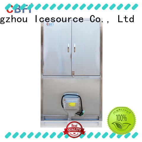CBFI Brand plc ice cube production line restaurants supplier