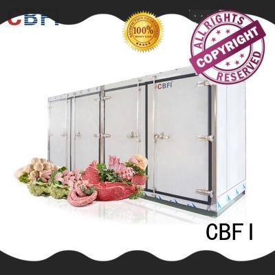 CBFI series blast freezer certifications