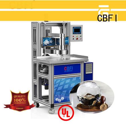 CBFI ball ice sphere maker bulk production for cocktail