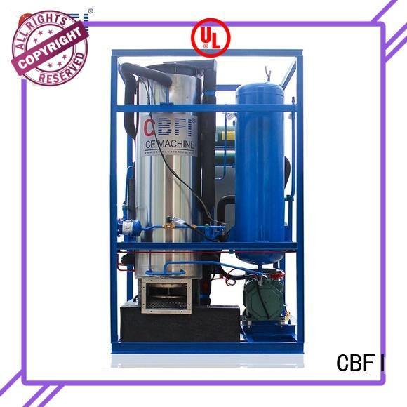 CBFI safe tube ice machine plant for bar