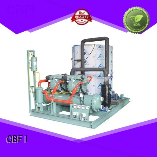 commercial flake ice making machine concrete certifications for cooling use