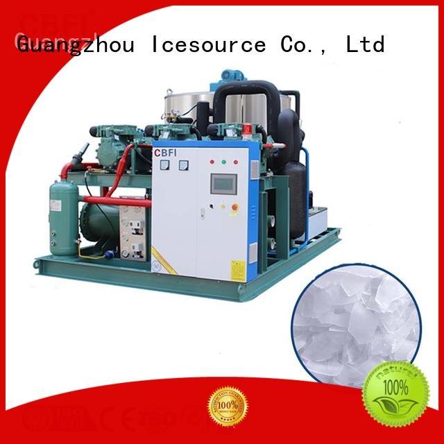 CBFI fish flake ice making machine bulk production for aquatic goods