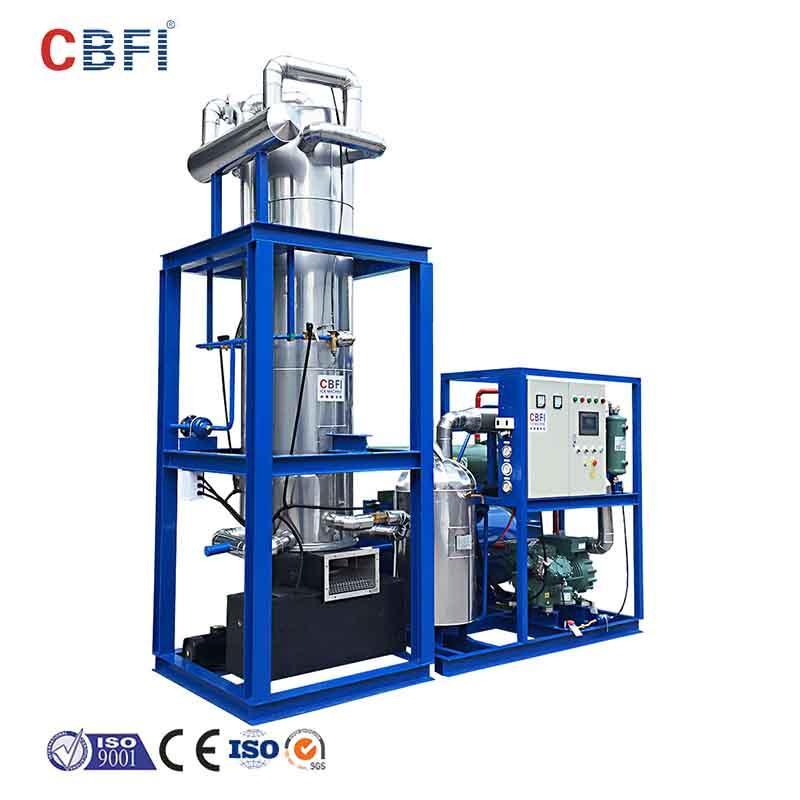 CBFI-Tube Ice Maker For Sale | Cbfi Tv100 10 Tons Per Day Tube Ice Machine For