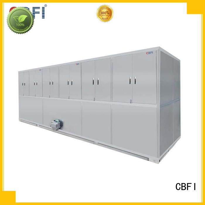 hotels industrial ice cube machine for fruit storage CBFI