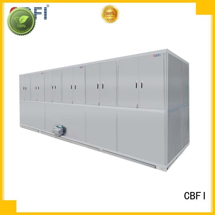 hotels industrial ice cube machine for fruit storage CBFI