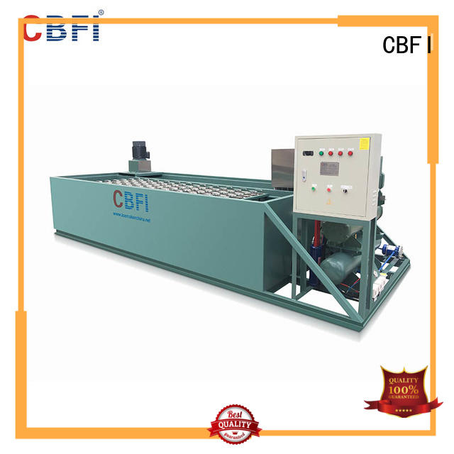 CBFI efficient ice block machine suppliers day for crushing ice