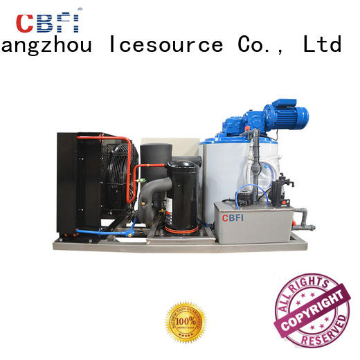 CBFI nice flake ice machine for sale supplier for water pretreatment