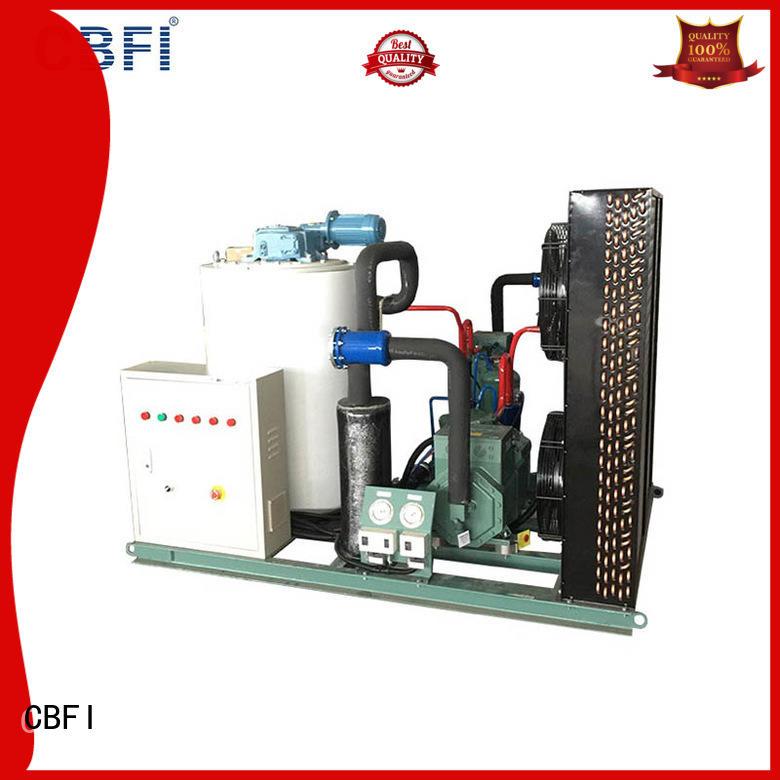 CBFI commercial flake ice maker bulk production for restaurant