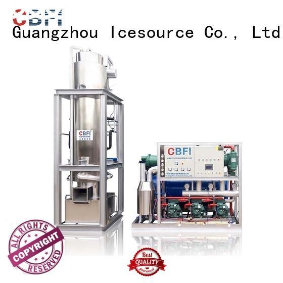 CBFI tube ice machine bulk production for ice making