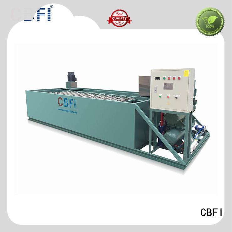 aquatic new pipes CBFI Brand big block ice machine supplier