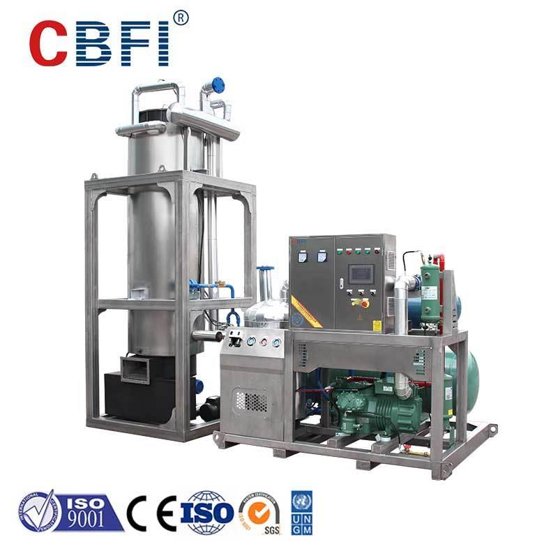 CBFI nugget ice machine bulk production for restaurant-2