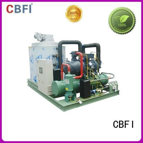 CBFI seawater flake ice machine certifications for ice making