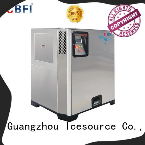 CBFI excellent Nugget Ice Machine vendor for aquatic goods