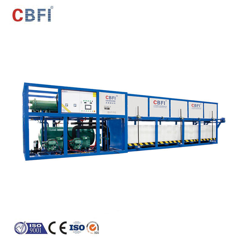 CBFI auto direct cooling block ice machine factory price for fruit storage-1