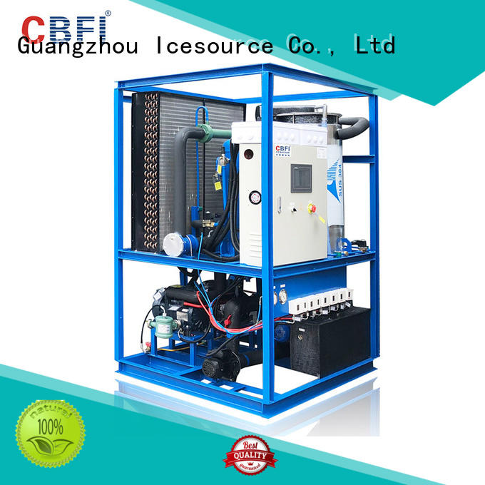 CBFI widely used italian ice machine grab now for aquatic products preservation