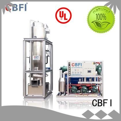 CBFI best tube ice machine shop now for bar